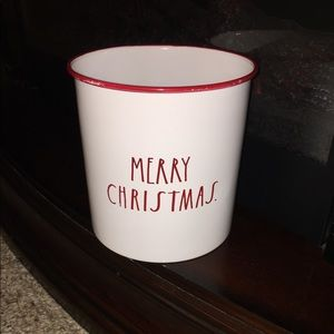 Party Supplies - MERRY CHRISTMAS utensil crock